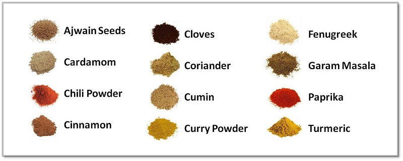 Indian Spice Kit Spices
