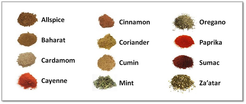 Lebanese Spice Kit Spices