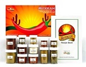 Mexican Spice Kit- Mexican Spices and Recipe Cooking Set